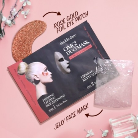 OMG Duo Mask – Rose Gold Therapy