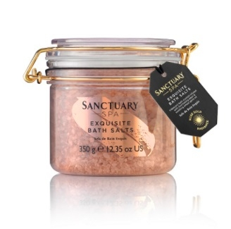 Sanctuary SPA Rose Gold Radiance Bath Salt 350g