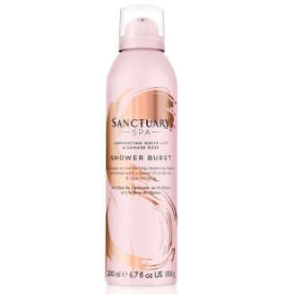 Sanctuary SPA White Lily & Rose Shower Burst 200ml
